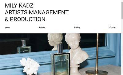 Site internet de Mily Kadz