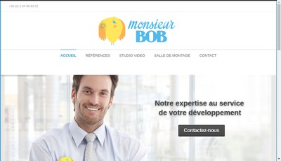 Site internet de Monsieur Bob