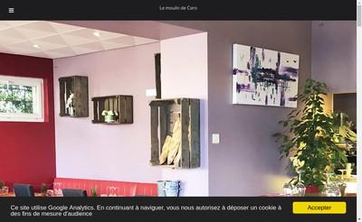 Site internet de Le Moulin de Caro