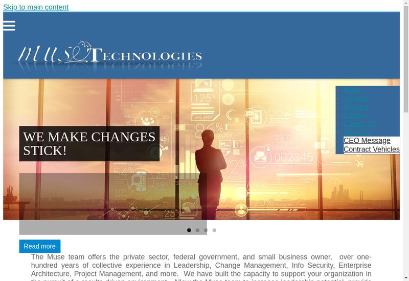Capture d'écran du site de Morgan It