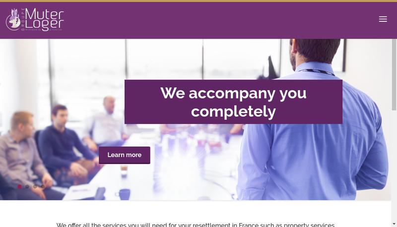 Capture d'écran du site de Muterloger