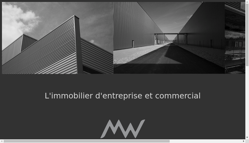 Capture d'écran du site de Mw Architecture