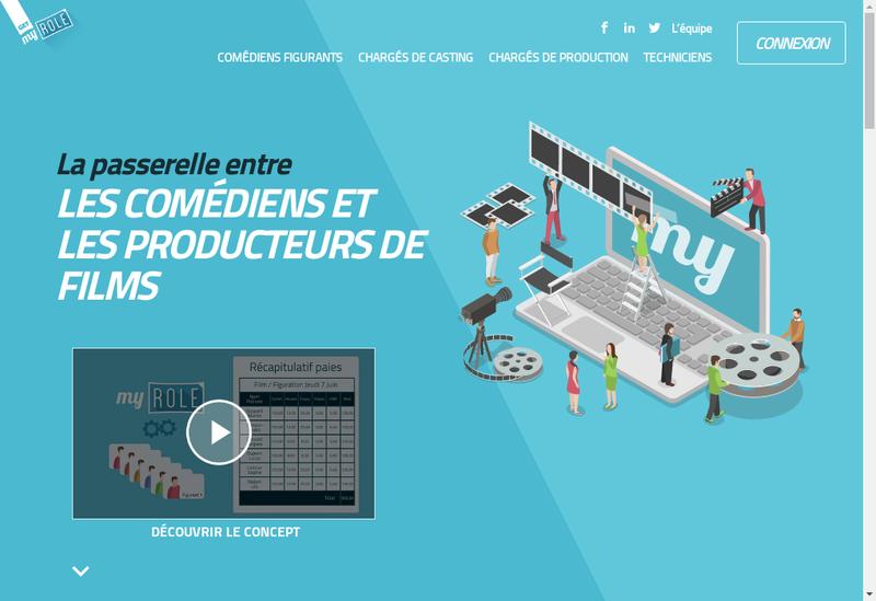 Capture d'écran du site de Myrole