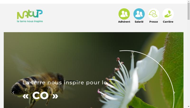 Site internet de Societe Cooperative Agricole Natup