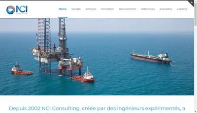 Site internet de Nci Consulting