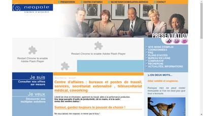 Site internet de Dom'Express - Agenda Service - l'Assistant - Amiltel - Chakappel