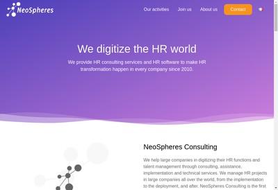 Site internet de Peoplespheres