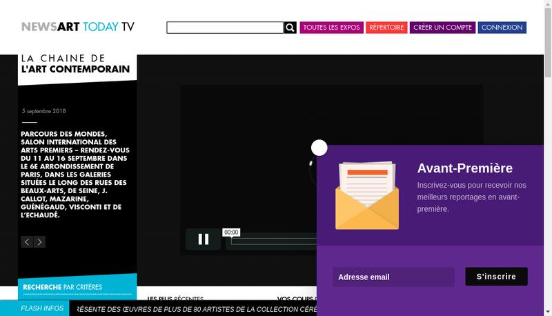Capture d'écran du site de Tendances-Prosaveurs-Musiconferences