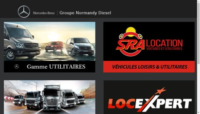 Site internet de Normandy Diesel