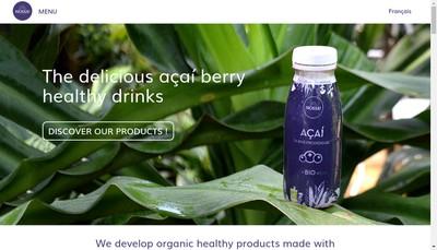 Site internet de Nossa Fruits