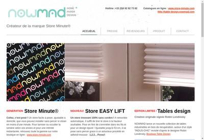 Site internet de Nowmad