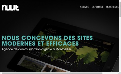 Site internet de Nuut - Evia
