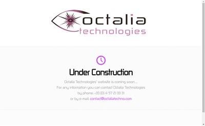 Site internet de Octalia Technologies
