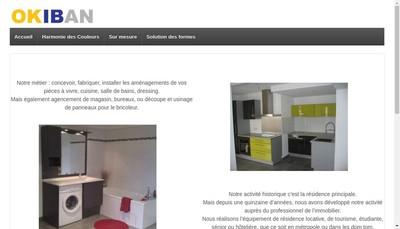 Site internet de Arlie Cuisines et Salles de Bains