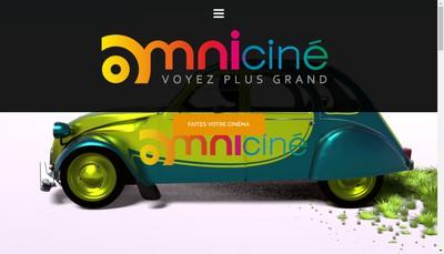 Site internet de Omni Cine