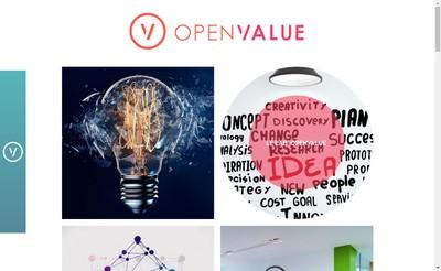 Site internet de Openvalue