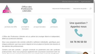 Site internet de Office des Professions Liberales