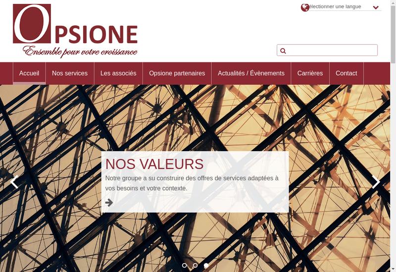 Capture d'écran du site de Aequiliance