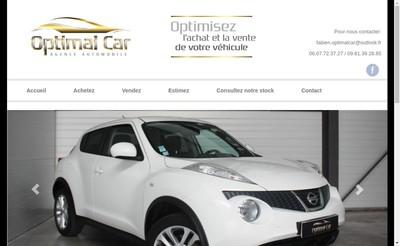 Site internet de SARL Optimal Car