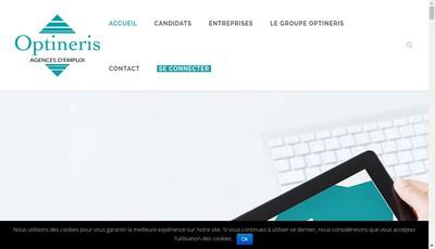 Site internet de Optineris Val de Vienne