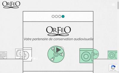 Site internet de Orfeo