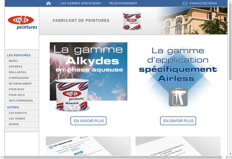 Capture d'écran du site de Feron SAS