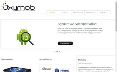 Site internet de Oxymob