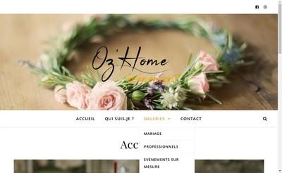 Site internet de Oz'Home
