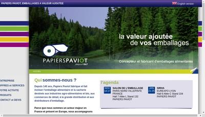 Site internet de Papiers a Paviot