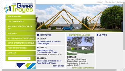 Capture d'écran du site de Ets E Eppe