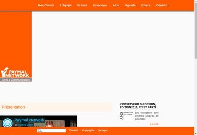 Site internet de Paymal Network