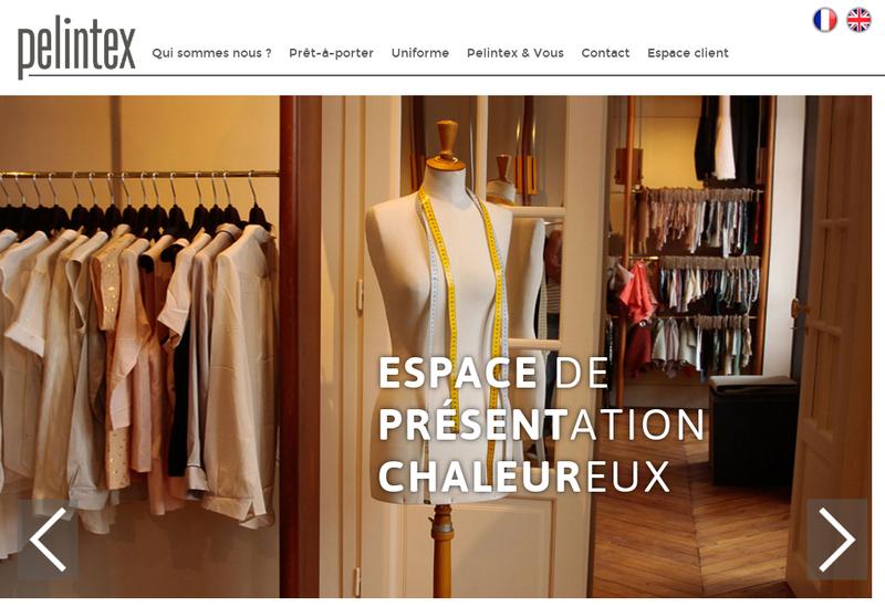 Capture d'écran du site de Charmal
