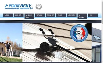 Site internet de Perche Beky