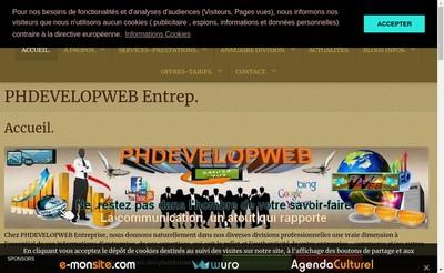Site internet de Phdevelopweb
