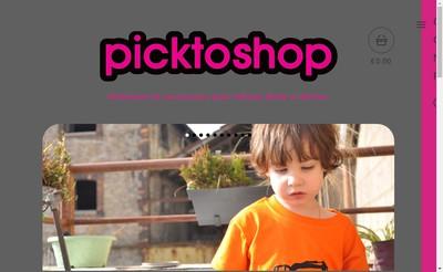 Site internet de Picktogram
