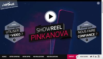 Site internet de Pinkanova