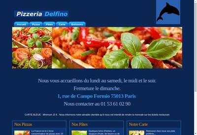 Site internet de Delfino