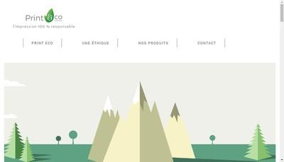 Site internet de Print Eco