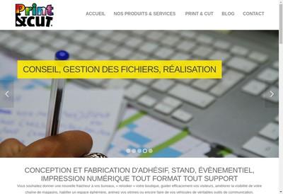 Site internet de Print And Cut