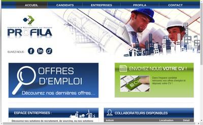 Site internet de Profila