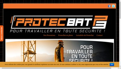 Site internet de Protecbat