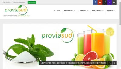 Site internet de Proviasud