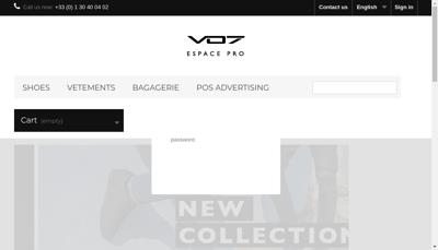 Capture d'écran du site de France Corp