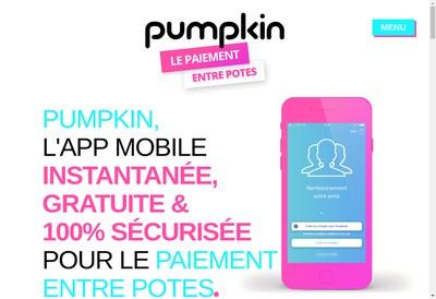 Site internet de Pumpkin