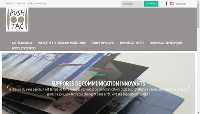 Site internet de Pushtac