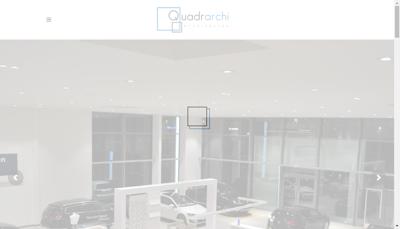 Capture d'écran du site de Quadratek