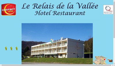 Site internet de Le Relais de la Vallee
