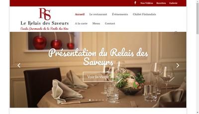 Site internet de Le Relais des Saveurs