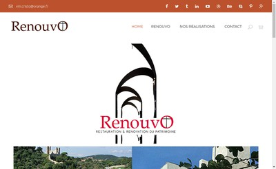 Site internet de Renouvo
