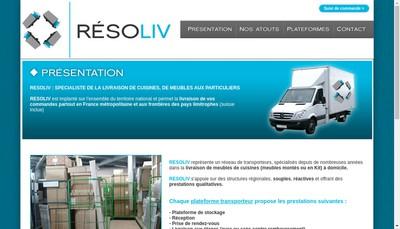 Site internet de Resoliv
